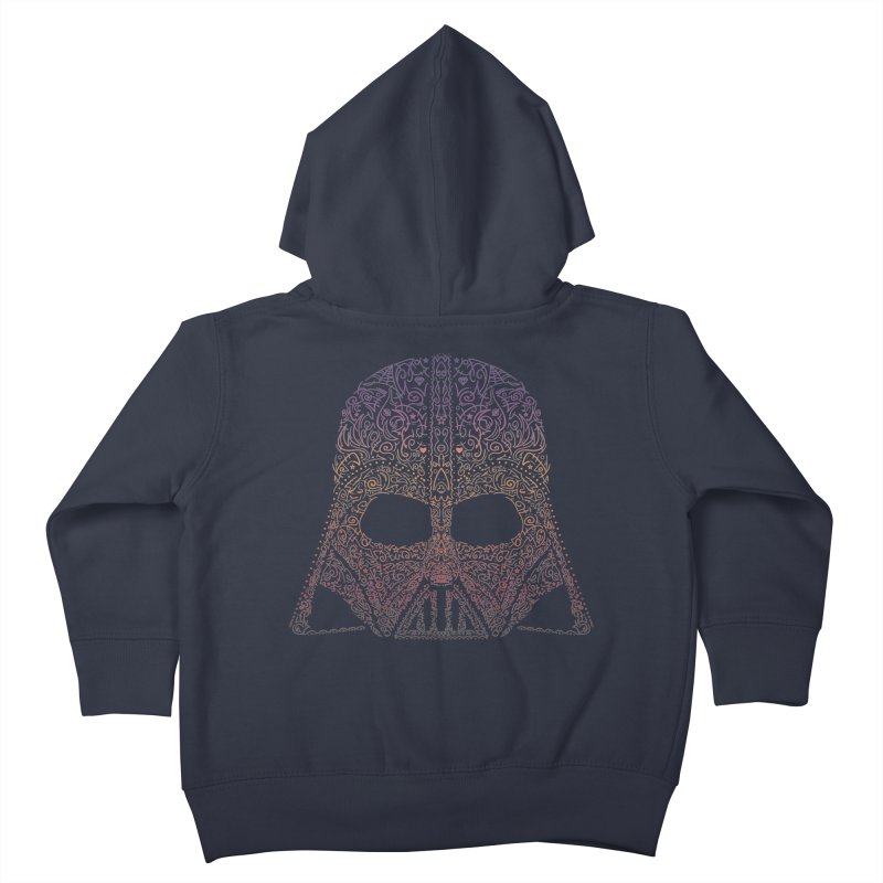 DarthNeonVader Kids Toddler Zip-Up Hoody by darkchoocoolat's Artist Shop