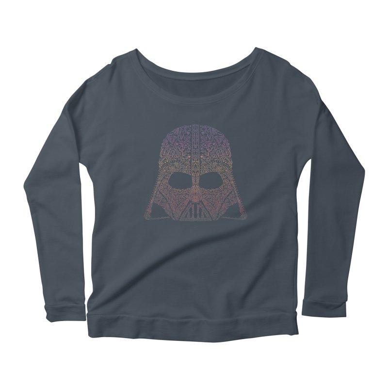 DarthNeonVader Women's Scoop Neck Longsleeve T-Shirt by darkchoocoolat's Artist Shop