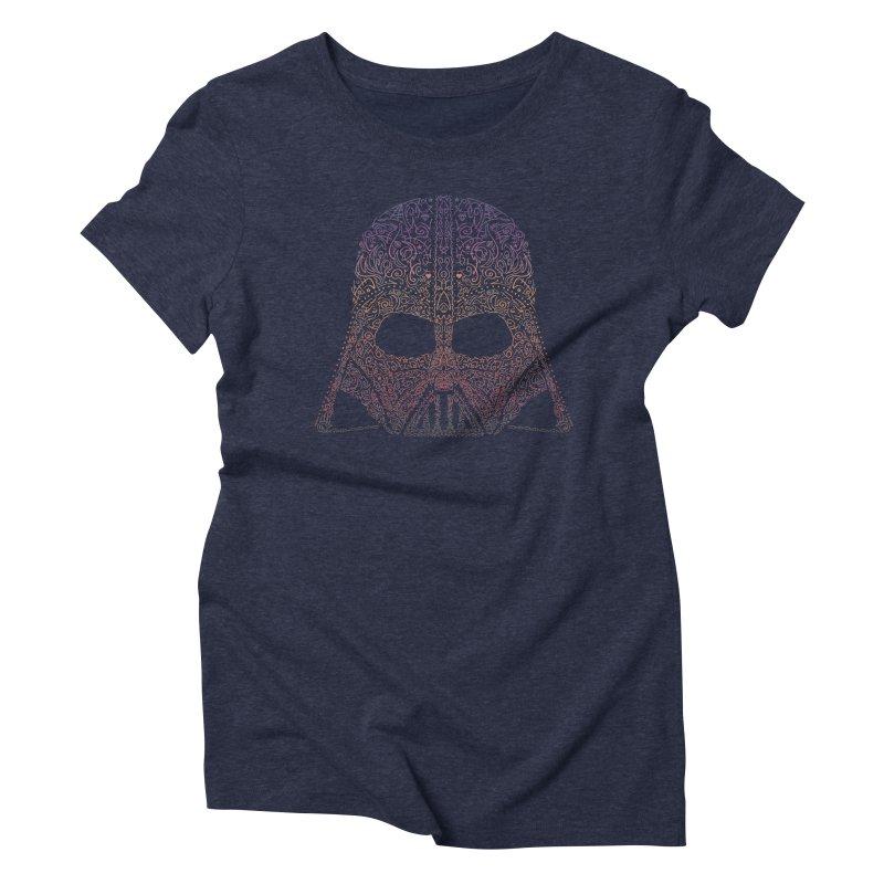 DarthNeonVader Women's Triblend T-Shirt by darkchoocoolat's Artist Shop