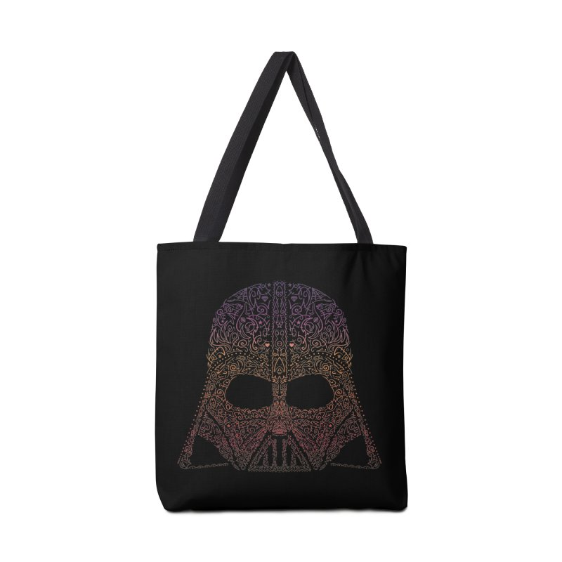 DarthNeonVader Accessories Tote Bag Bag by darkchoocoolat's Artist Shop