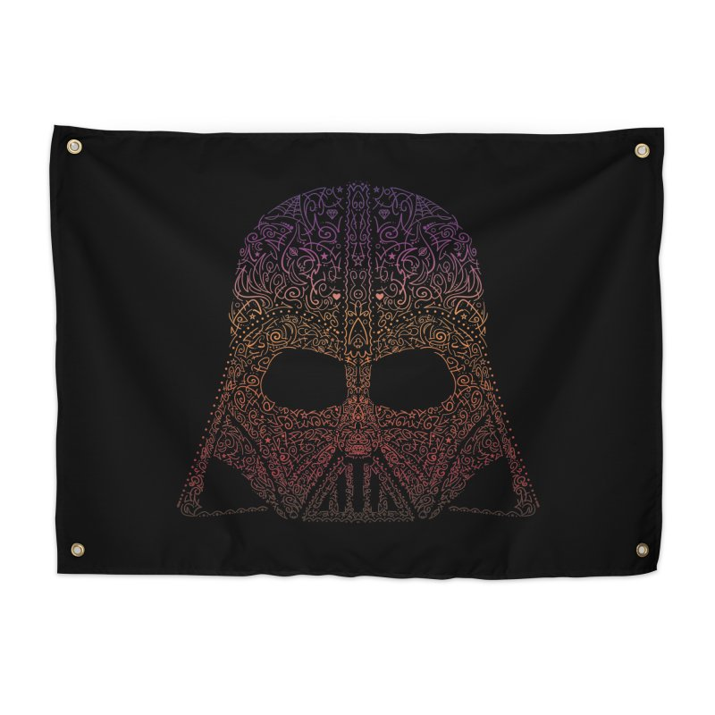 DarthNeonVader Home Tapestry by darkchoocoolat's Artist Shop