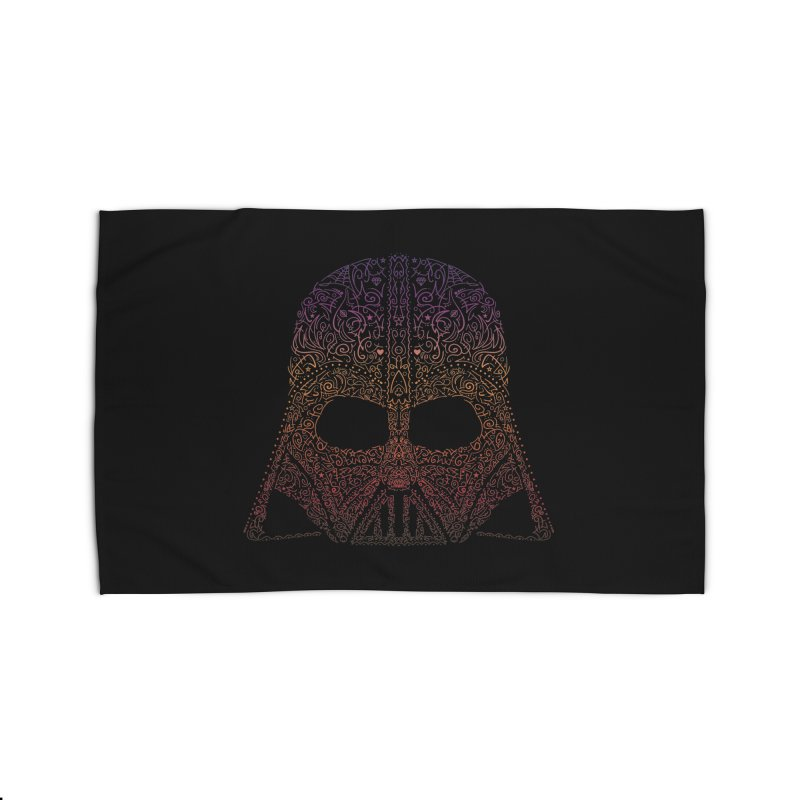 DarthNeonVader Home Rug by darkchoocoolat's Artist Shop
