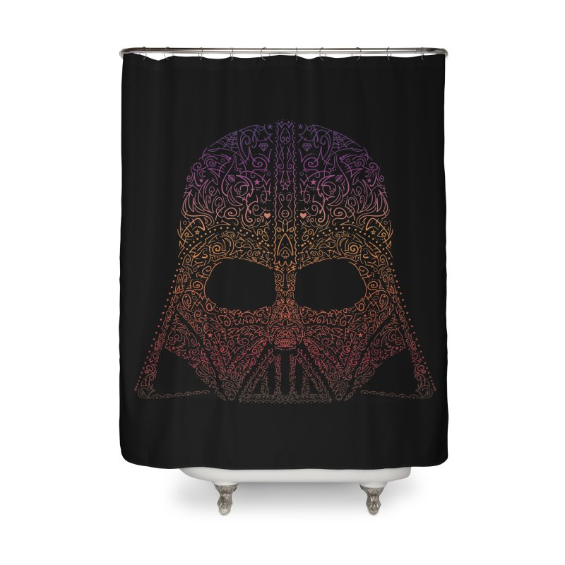 DarthNeonVader Home Shower Curtain by darkchoocoolat's Artist Shop