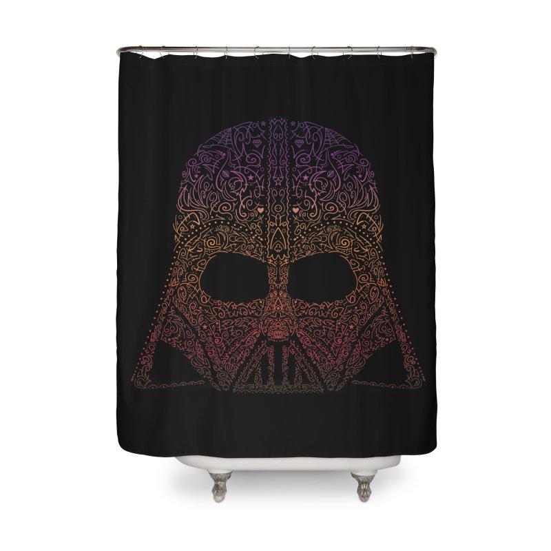 DarthNeonVader Home Shower Curtain by darkchoocoolat's Artist Shop