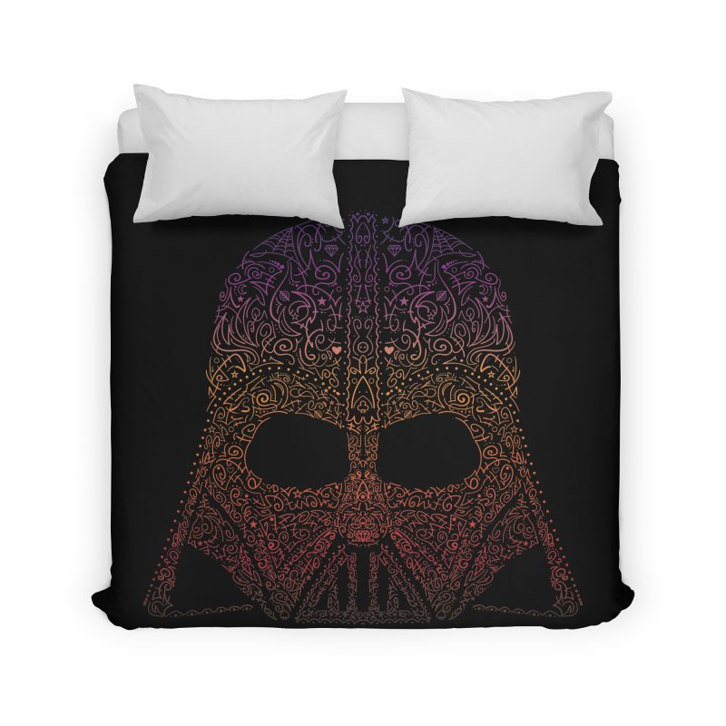 DarthNeonVader Home Duvet by darkchoocoolat's Artist Shop