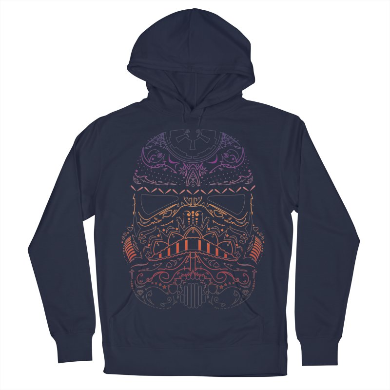 StormNeonTrooper Men's French Terry Pullover Hoody by darkchoocoolat's Artist Shop