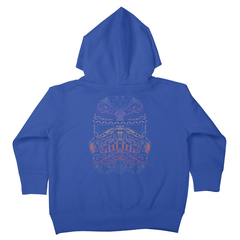 StormNeonTrooper Kids Toddler Zip-Up Hoody by darkchoocoolat's Artist Shop