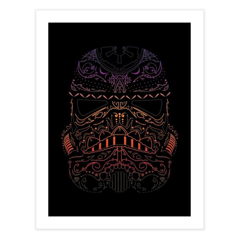 StormNeonTrooper Home Fine Art Print by darkchoocoolat's Artist Shop