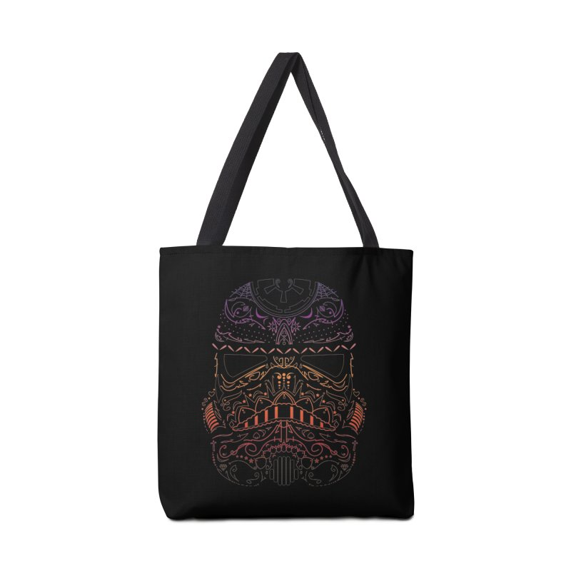 StormNeonTrooper Accessories Tote Bag Bag by darkchoocoolat's Artist Shop