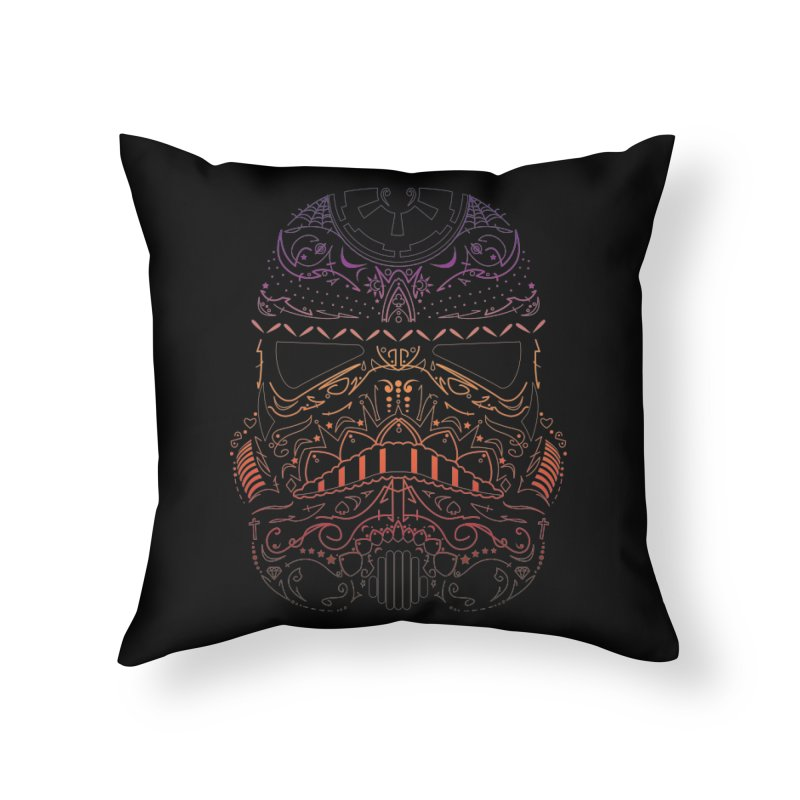StormNeonTrooper Home Throw Pillow by darkchoocoolat's Artist Shop