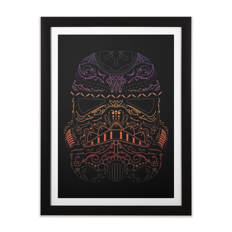 StormNeonTrooper Home Framed Fine Art Print by darkchoocoolat's Artist Shop