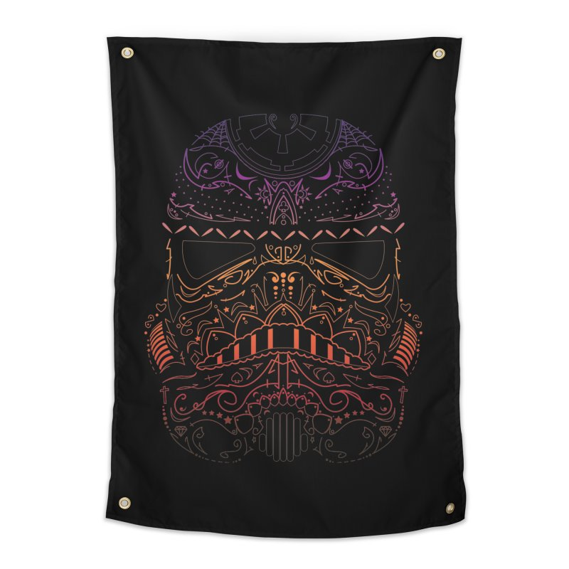 StormNeonTrooper Home Tapestry by darkchoocoolat's Artist Shop