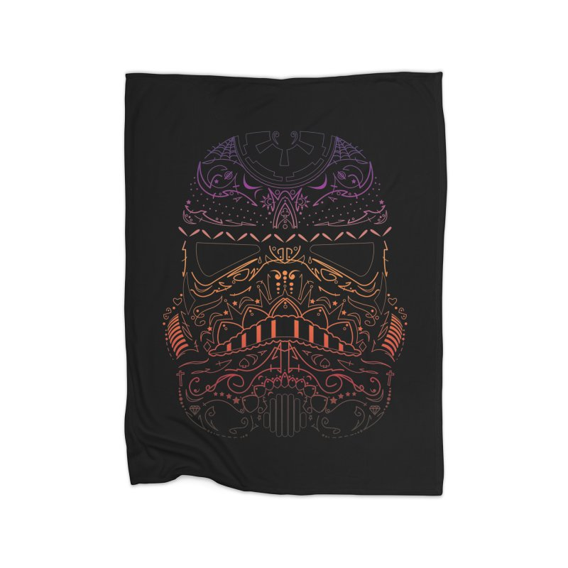 StormNeonTrooper Home Blanket by darkchoocoolat's Artist Shop