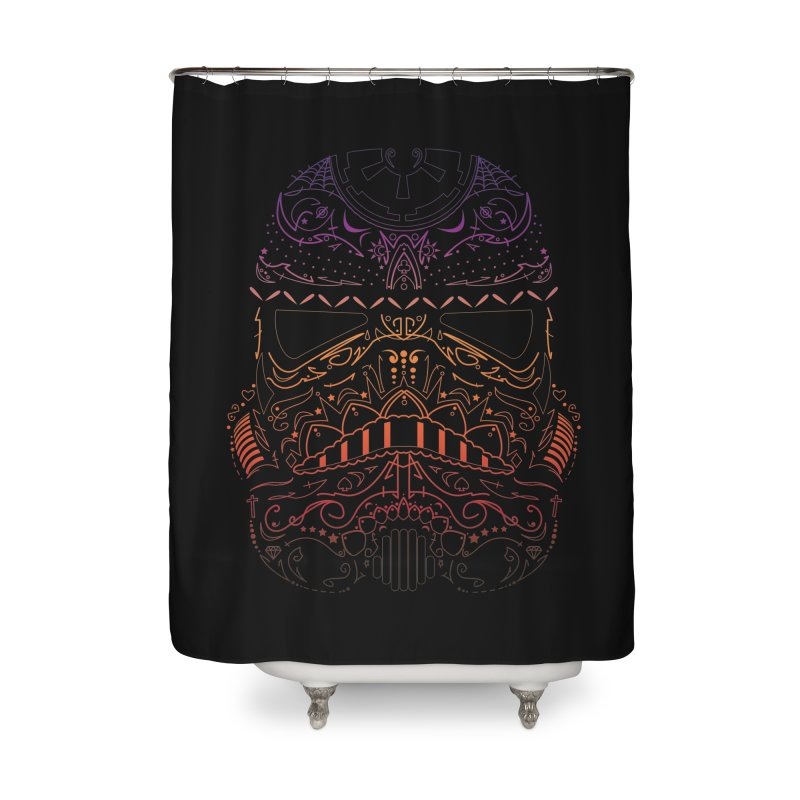 StormNeonTrooper Home Shower Curtain by darkchoocoolat's Artist Shop