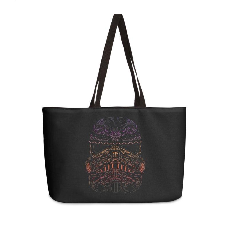 StormNeonTrooper Accessories Weekender Bag Bag by darkchoocoolat's Artist Shop