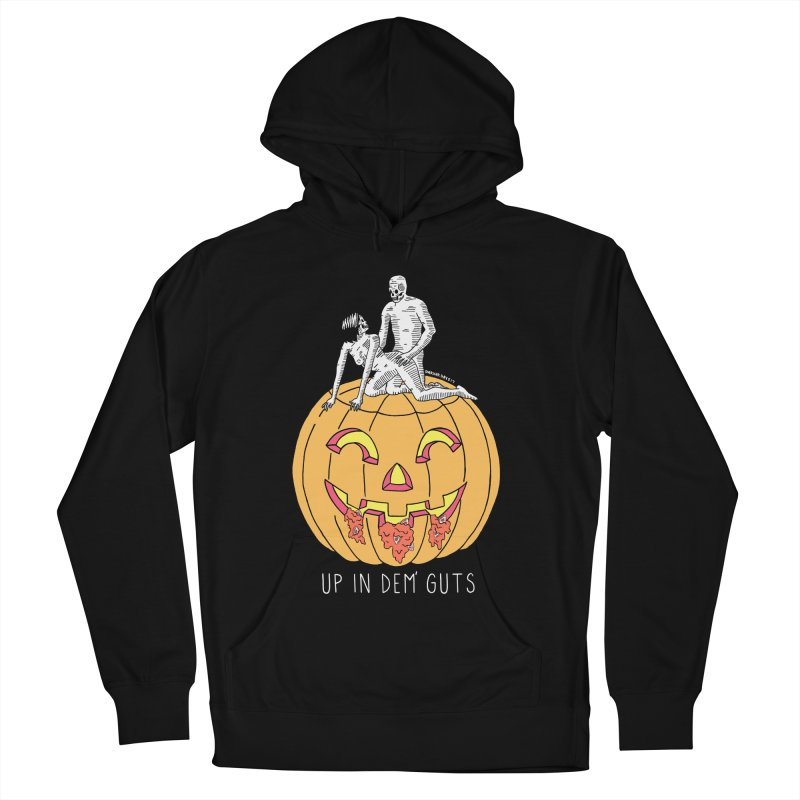 Up In Dem' Guts Men's French Terry Pullover Hoody by DARKER DAYS