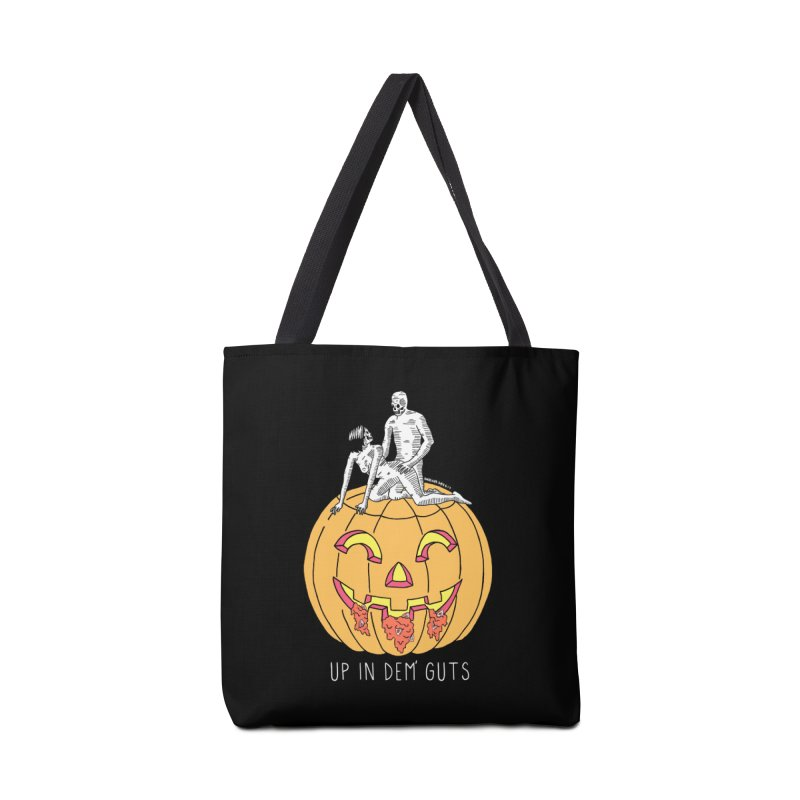 Up In Dem' Guts Accessories Tote Bag Bag by DARKER DAYS