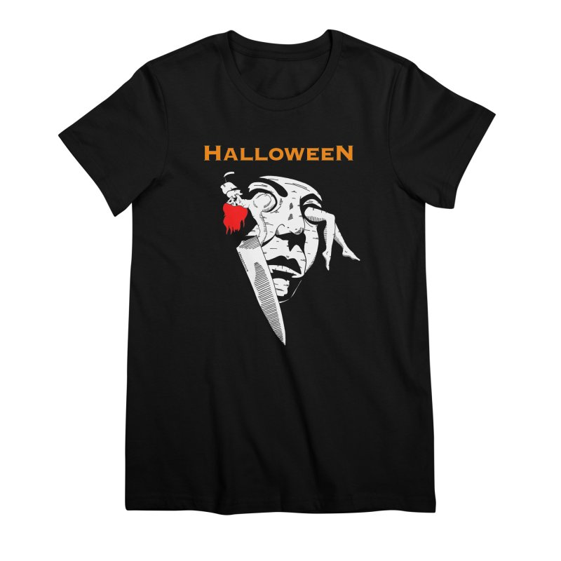 Halloween Women's Premium T-Shirt by DARKER DAYS