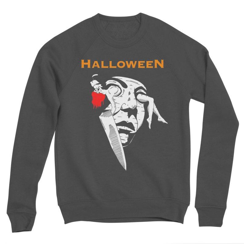 Halloween Men's Sponge Fleece Sweatshirt by DARKER DAYS