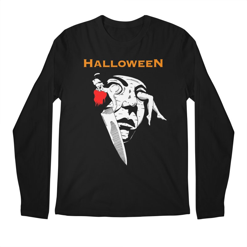 Halloween Men's Regular Longsleeve T-Shirt by DARKER DAYS