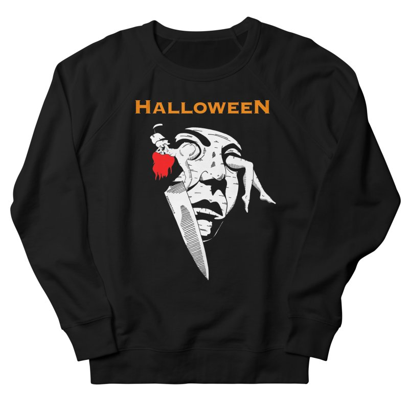 Halloween Men's French Terry Sweatshirt by DARKER DAYS