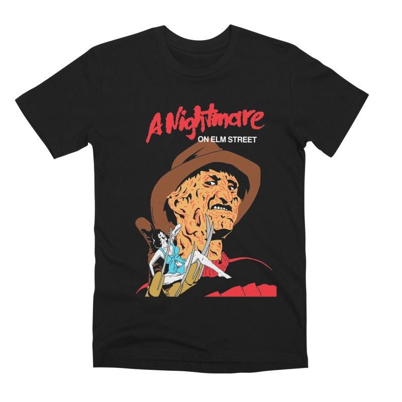 A Nightmare On Elm Street Men's Premium T-Shirt by DARKER DAYS