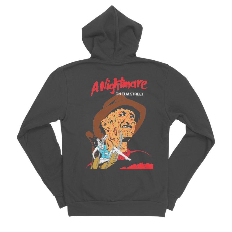 A Nightmare On Elm Street Men's Sponge Fleece Zip-Up Hoody by DARKER DAYS