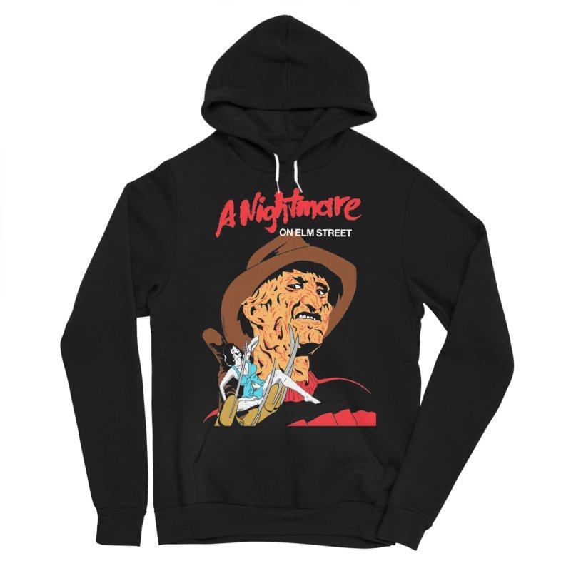 A Nightmare On Elm Street Men's Sponge Fleece Pullover Hoody by DARKER DAYS