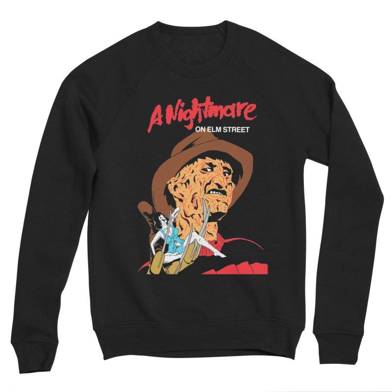 A Nightmare On Elm Street Women's Sponge Fleece Sweatshirt by DARKER DAYS