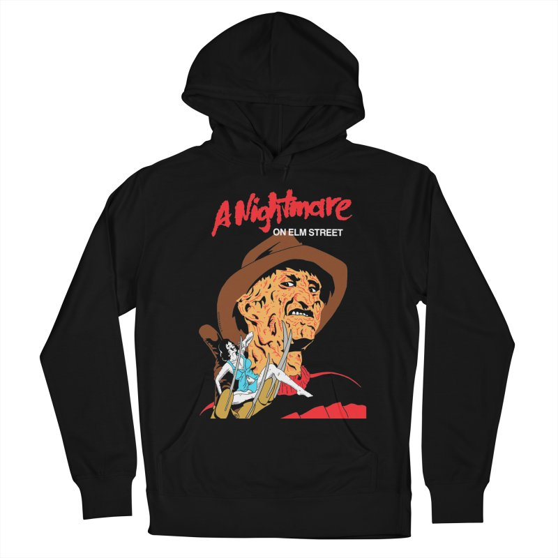 A Nightmare On Elm Street Men's French Terry Pullover Hoody by DARKER DAYS