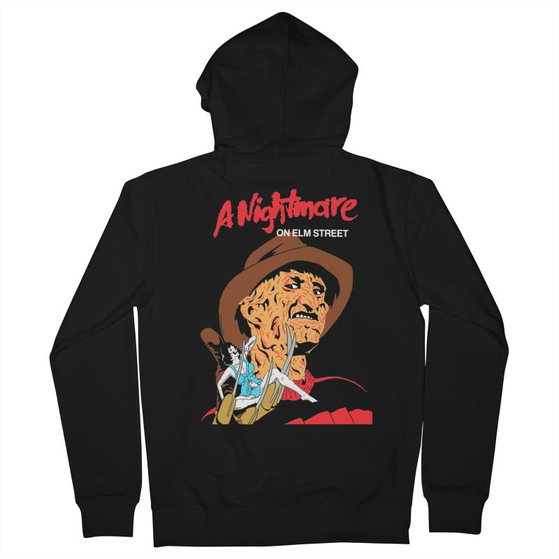A Nightmare On Elm Street Men's French Terry Zip-Up Hoody by DARKER DAYS