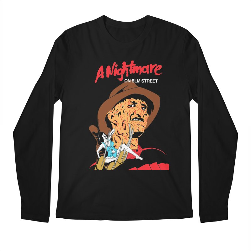 A Nightmare On Elm Street Men's Regular Longsleeve T-Shirt by DARKER DAYS