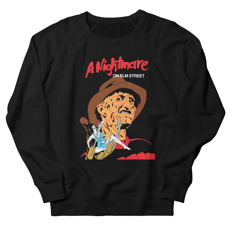 A Nightmare On Elm Street Men's French Terry Sweatshirt by DARKER DAYS