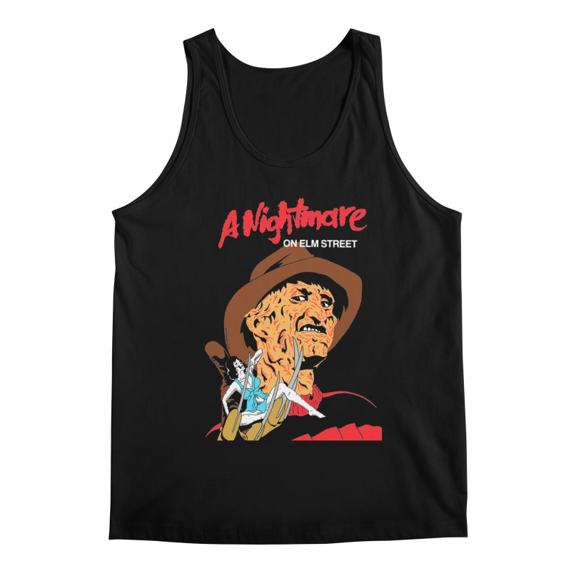 A Nightmare On Elm Street Men's Regular Tank by DARKER DAYS