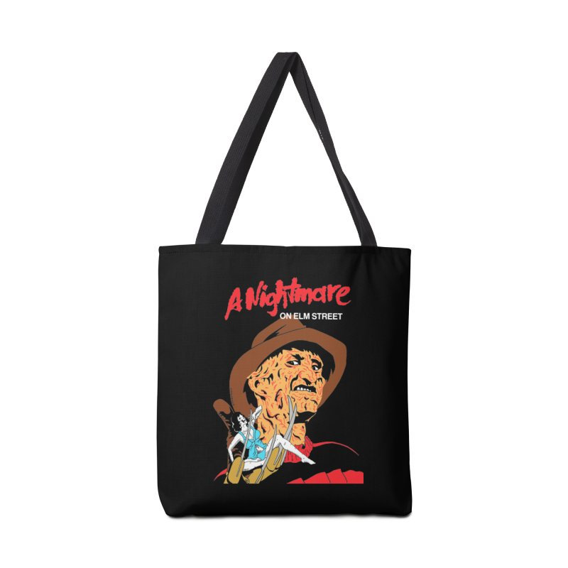 A Nightmare On Elm Street Accessories Tote Bag Bag by DARKER DAYS