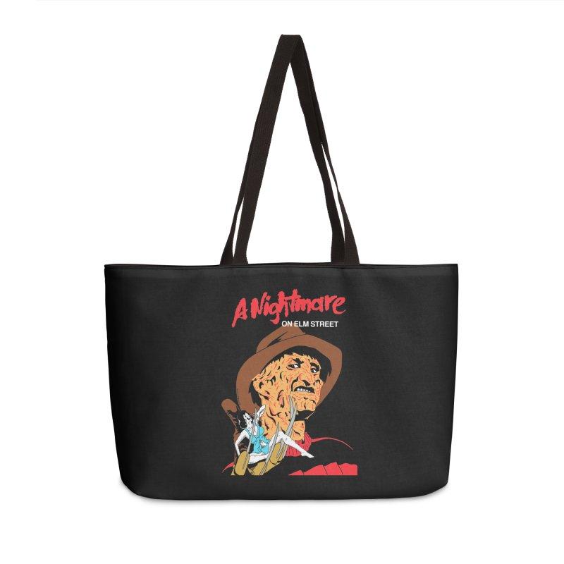 A Nightmare On Elm Street Accessories Weekender Bag Bag by DARKER DAYS