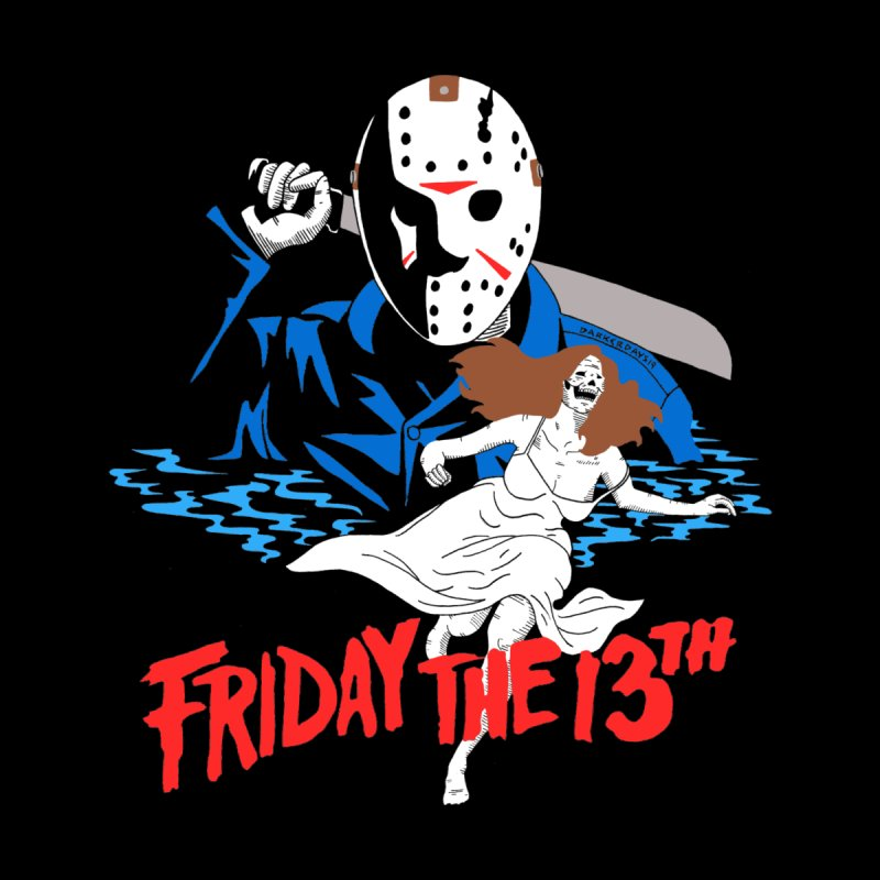 Friday The 13th Men's V-Neck by DARKER DAYS