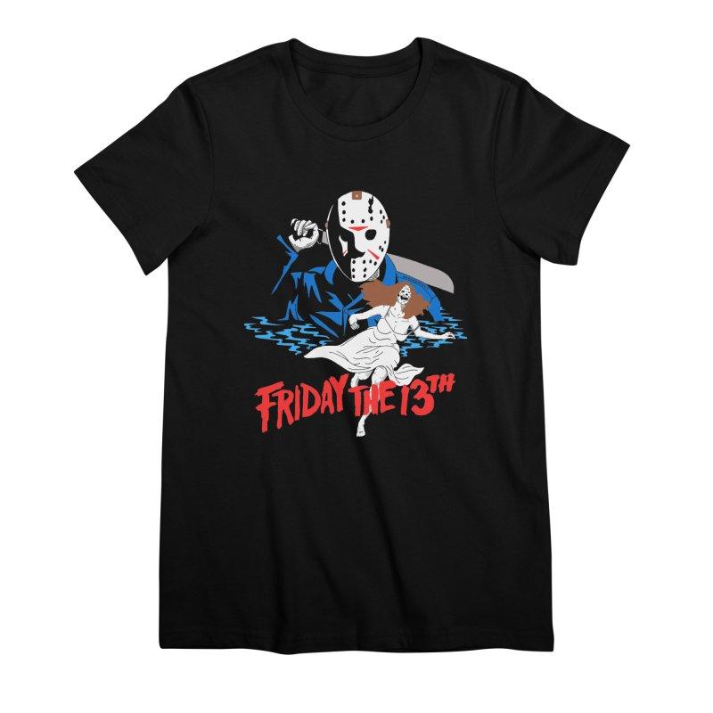 Friday The 13th Women's Premium T-Shirt by DARKER DAYS