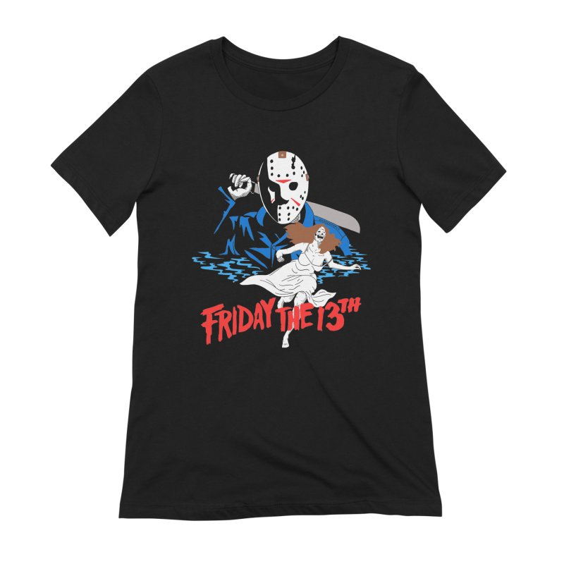 Friday The 13th Women's Extra Soft T-Shirt by DARKER DAYS