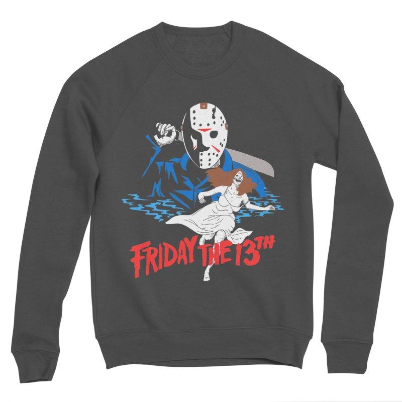 Friday The 13th Men's Sponge Fleece Sweatshirt by DARKER DAYS