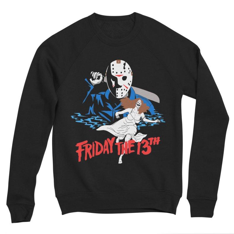 Friday The 13th Women's Sponge Fleece Sweatshirt by DARKER DAYS