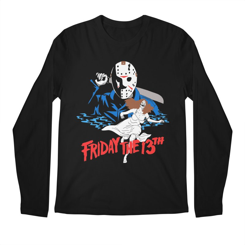 Friday The 13th Men's Regular Longsleeve T-Shirt by DARKER DAYS