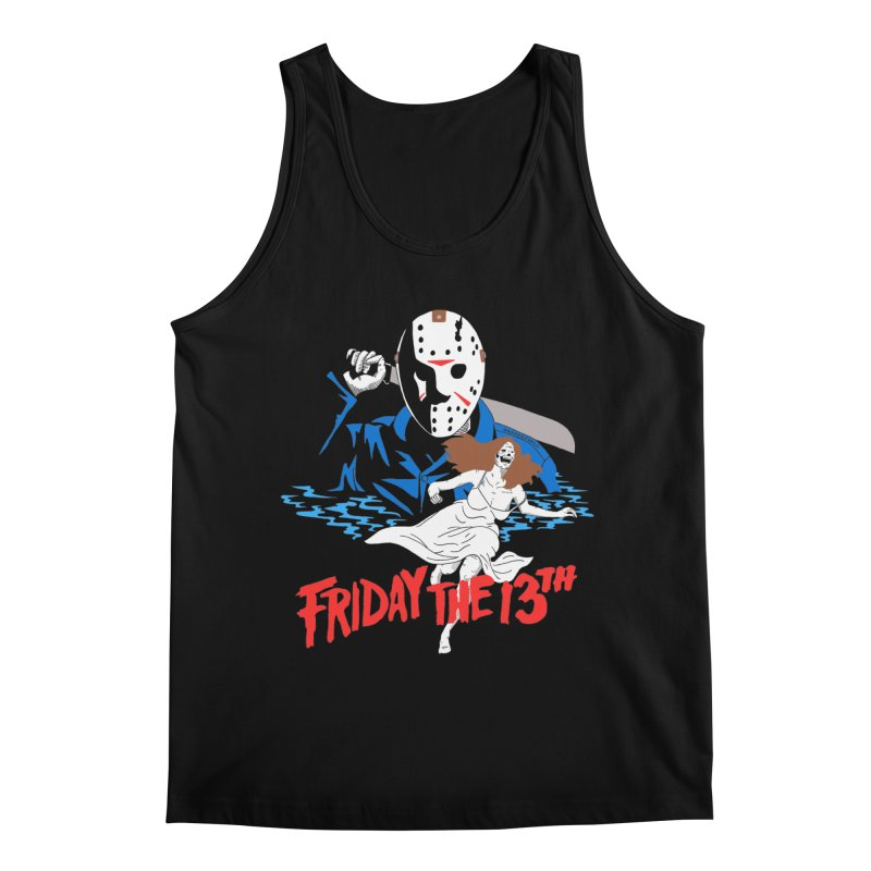 Friday The 13th Men's Regular Tank by DARKER DAYS