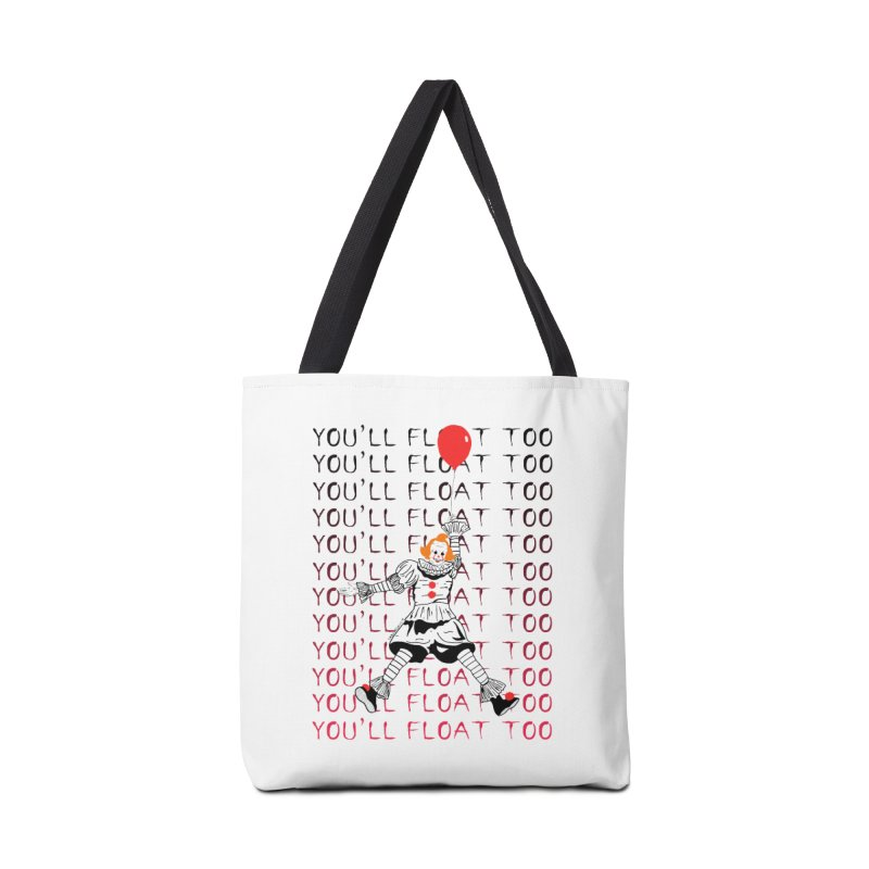You'll Float Too Accessories Tote Bag Bag by DARKER DAYS