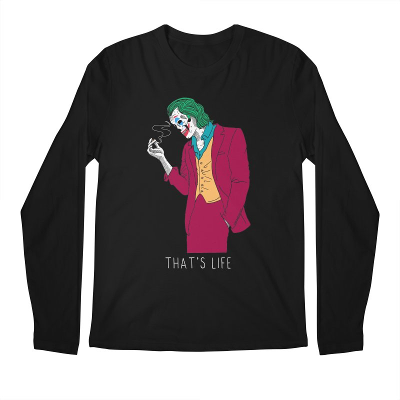 That's Life Men's Regular Longsleeve T-Shirt by DARKER DAYS
