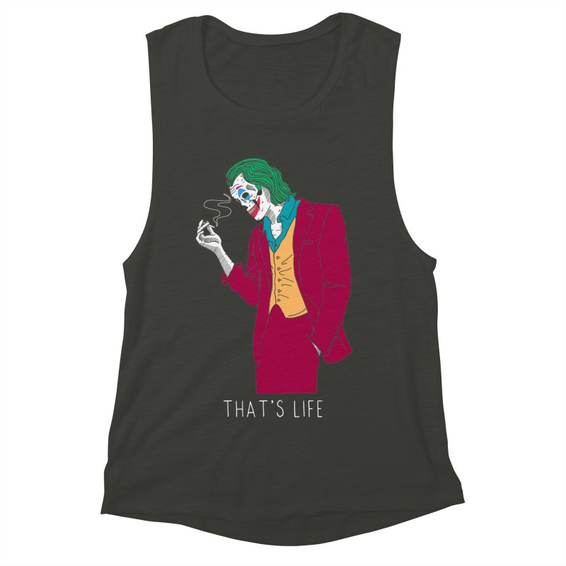 That's Life Women's Muscle Tank by DARKER DAYS
