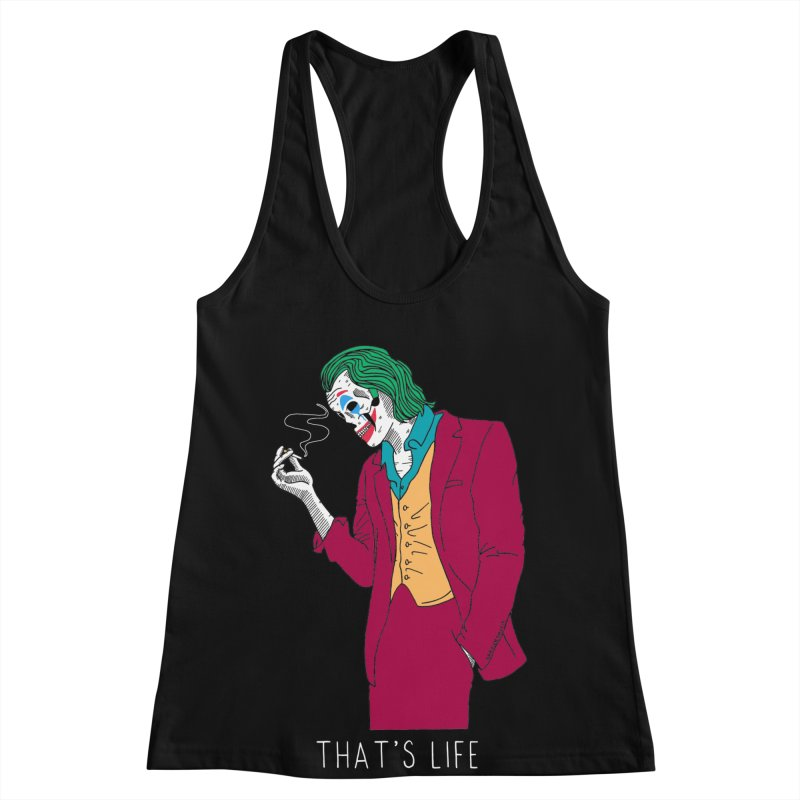That's Life Women's Racerback Tank by DARKER DAYS