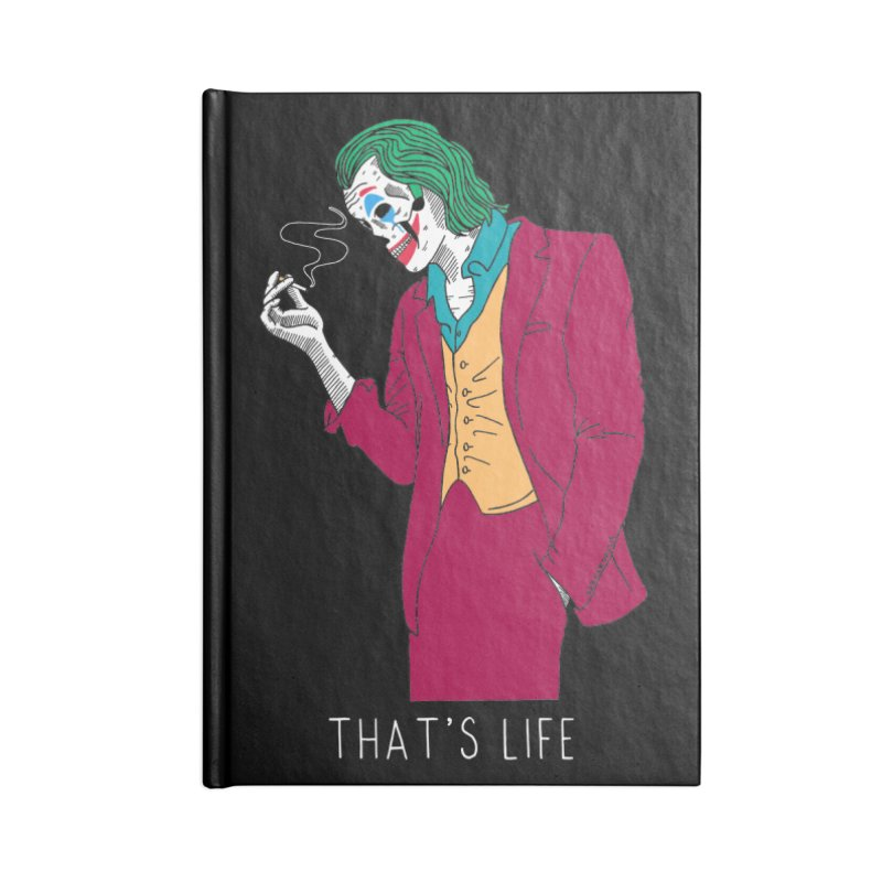 That's Life Accessories Blank Journal Notebook by DARKER DAYS