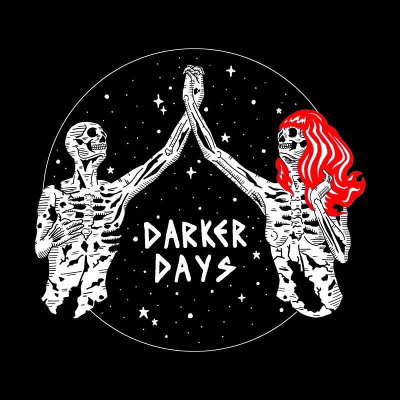 Darker Days Home Stretched Canvas by DARKER DAYS