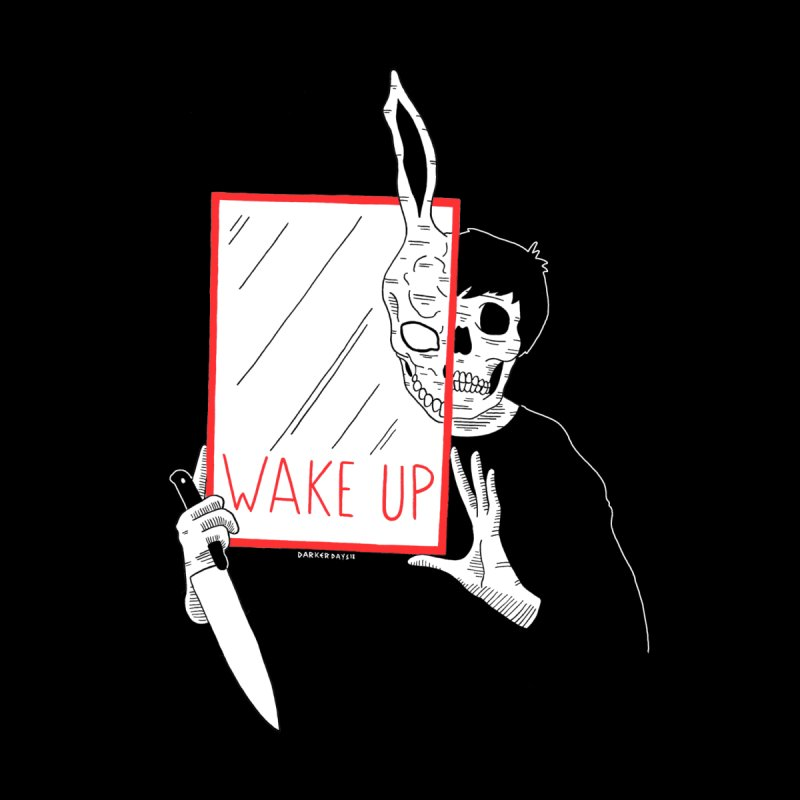 Wake Up Men's T-Shirt by DARKER DAYS